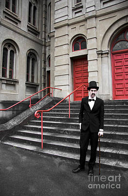 Director Photograph - Vintage Sinister Man by Jorgo Photography - Wall Art Gallery