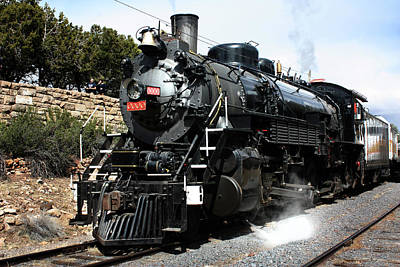 Photograph - Vintage Steam Train  by Gravityx9 Designs