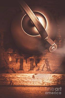 Indoor Photograph - Vintage Tea Break by Jorgo Photography - Wall Art Gallery