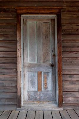 Vintage Wood Door  Print by Terry DeLuco