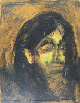 Social Commentary Painting - Violence - Judy Weeps by Judith Redman