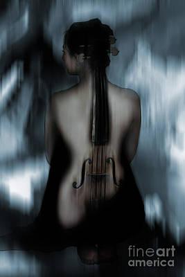 Violin Lady 04 Original by Gull G