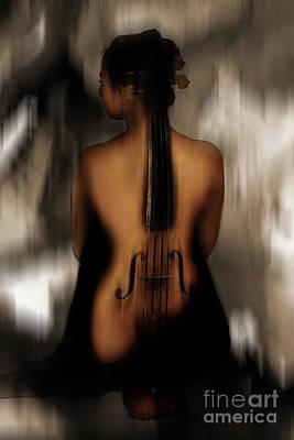 Violin Lady 05 Original by Gull G