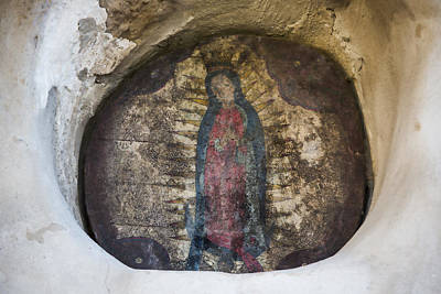 Blessed Virgin Photograph - Virgin Of Guadalupe - San Juan Capistrano by Stephen Stookey