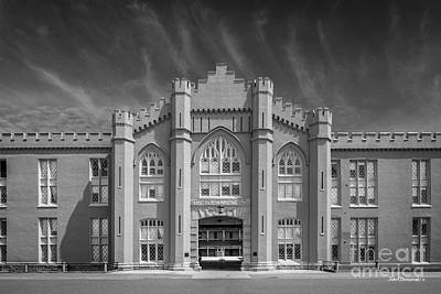 Vmi Photograph - Virginia Military Institute Old Barracks by University Icons