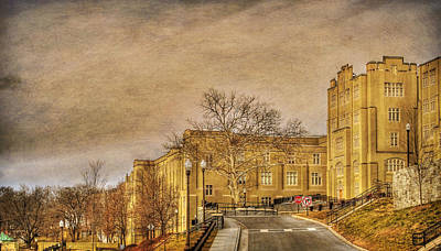 Virginia Military Institute Print by Todd Hostetter