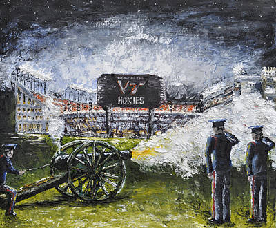 Virginia Tech Skipper's Time Print by Spencer Yancey