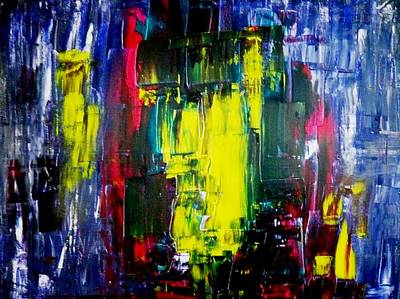 Abstractz Painting - Vision by Piety Dsilva