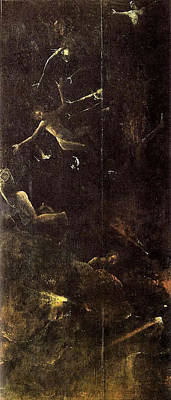 Religious Painting - Visions Of The Hereafter, Fall Of The Damned by Hieronymus Bosch