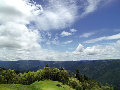 Clouds Photograph - Vista Vision by John Norman Stewart