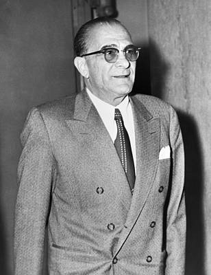 Photograph - Vito Genovese 1897-1969, Boss by Everett