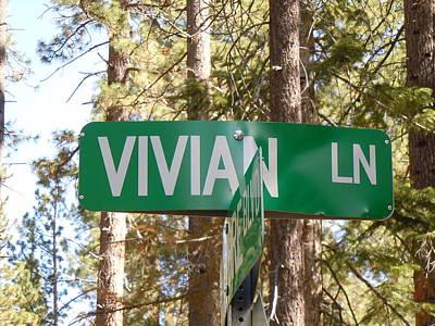 Vivian Lane Print by Dan Whittemore