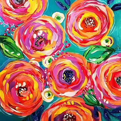 Vivid Flora Original by DAKRI Sinclair