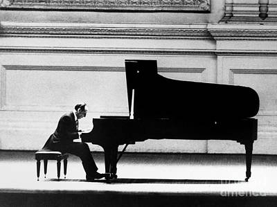 Benches Photograph - Vladimir Horowitz by Granger