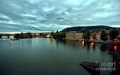 Czech Republic Digital Art - Vltava View 2 by Madeline Ellis