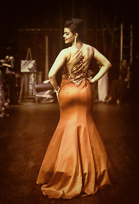 Evening Gown Photograph - Vogue Reds by Monte Arnold
