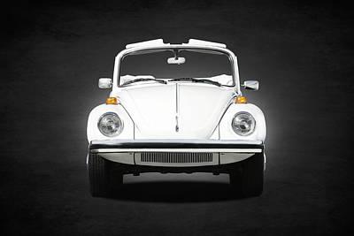 Vintage Car Photograph - Volkswagen Beetle by Mark Rogan