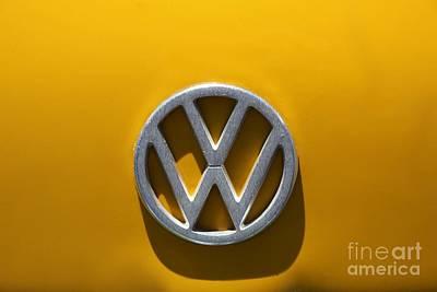 Avantgarde Photograph - Volkswagen Crest by Sophie Vigneault