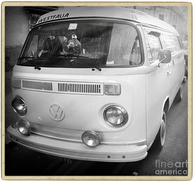 Combie Photograph - Volkswagen Westfalia Camper by Stefano Senise
