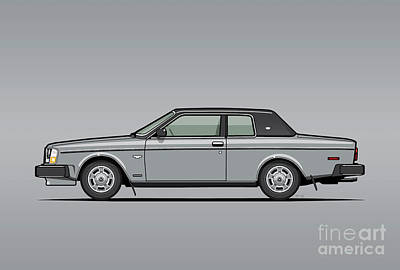 Volvo 262c Bertone Brick Coupe 200 Series Silver Original by Monkey Crisis On Mars