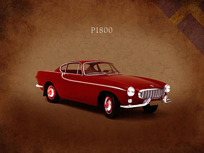 Volvo Photograph - Volvo P1800 1961 by Mark Rogan