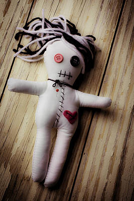 Good Luck Photograph - Voodoo Doll by Garry Gay