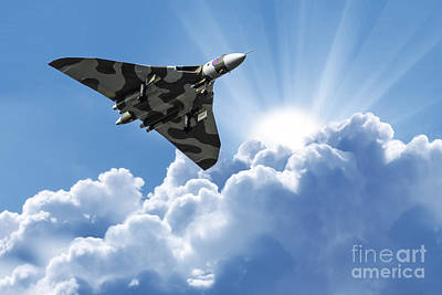Vulcan Photograph - Vulcan To The Skies by Stephen Smith