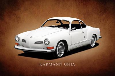 Photograph - Vw Karmann Ghia by Mark Rogan