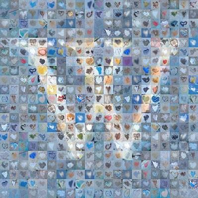 Digital Art - W In Cloud by Boy Sees Hearts