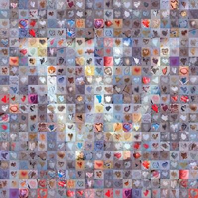 Digital Art - W In Confetti by Boy Sees Hearts