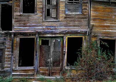 Old West Photograph - Wabi-sabi Cabin. by Leland D Howard
