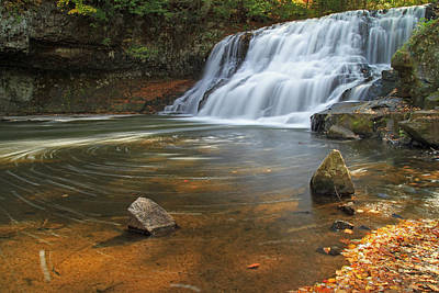 Wadsworth Falls Print by David Freuthal