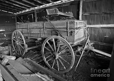 Owensboro Kentucky Photograph - Wagon Made In Owensboro Kentucky by Dwight Cook