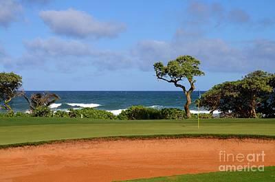 Photograph - Wailua Golf Course Hole 17 No 5 by Mary Deal