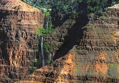 Kauai Photograph - Waimea Canyon Four by Michael Peychich