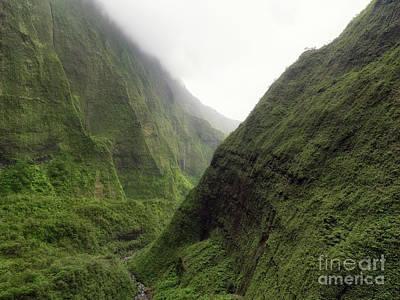 Hawaii Photograph - Waimea Canyon On Na Pali Coast, Kauai Island, Hawaii by Dani Prints and Images