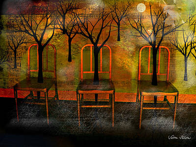 Digital Art - Waiting For A Miracle by Sabine Stetson