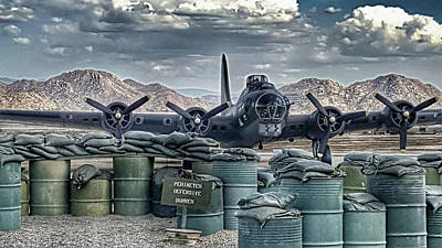 Photograph - Waiting For A Mission by Tommy Anderson
