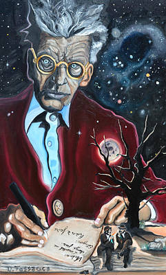 Waiting For Godot- Samuel Beckett Original by David Fossaceca