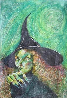 Waiting For Halloween Original by Brigitte Hintner