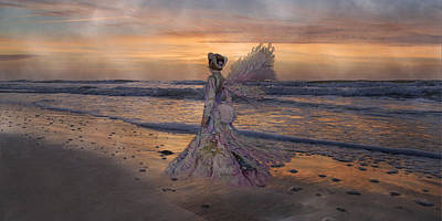 Ball Gown Digital Art - Waiting For The Sun by Betsy C Knapp