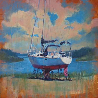 Painting - Waiting For The Weekend by Donna Shortt