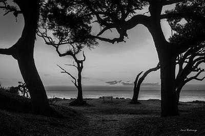 Waiting For You Driftwood Beach Jekyll Island Georgia Print by Reid Callaway