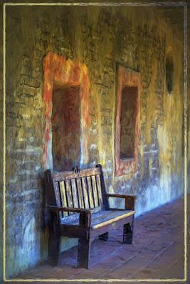 Window Bench Photograph - Waiting II by Joan Carroll