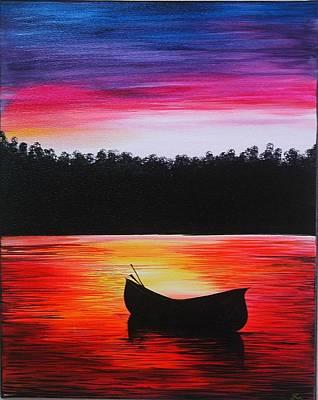 Waiting Painting - Waiting by Ramneek Narang