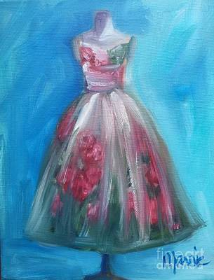 Waiting To Be Worn Original by Marnie Bourque