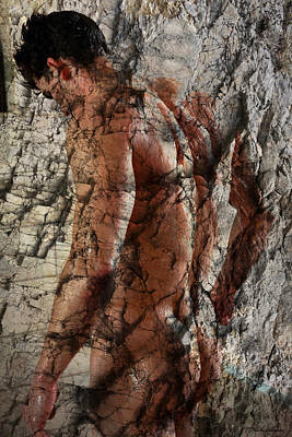 Artistic Nude Digital Art - Waiting  To The One  by Mark Ashkenazi