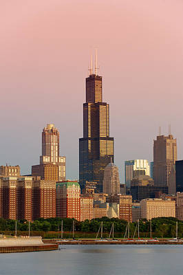 Chicago Skyline Photograph - Wake Up Chicago by Sebastian Musial