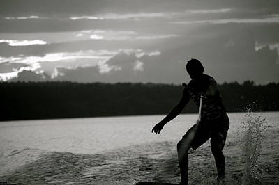 Wakeboarding Photograph - Wakeboarding by Erica Laucella