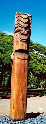 Wakiki Tiki Print by Matthew Bamberg